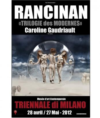 Affiche Hypothèses – Les Trois Grâces – Triennale de Milan – 2012