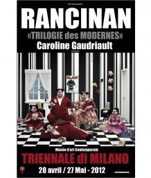 Affiche Wonderful World - Family Watching TV - Triennale Di Milano - 2012