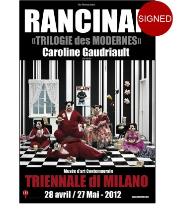 Affiche Wonderful World - Family Watching TV - Triennale Di Milano - 2012